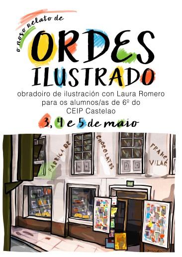 cartel obradoiros Castelao