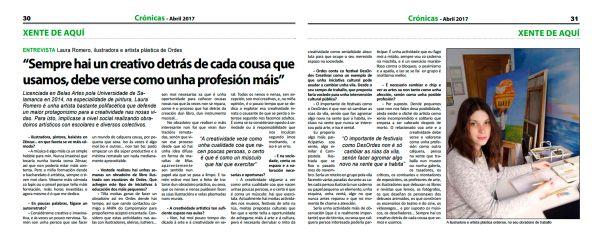 entrevista Crónicas