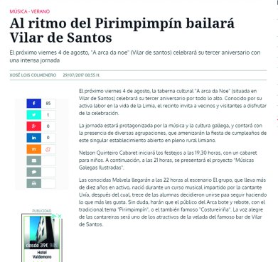 noticia la region musicas galegas