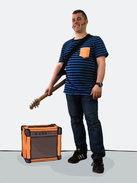 ampli orange ilustrado